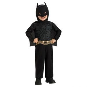 Batman Dark Knight Rises Child's Deluxe Muscle Chest Batman Costume with Mask, Small Review!