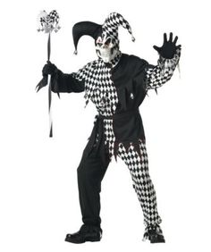 California Costumes Men's Adult- Black Evil Jester Costume Review!