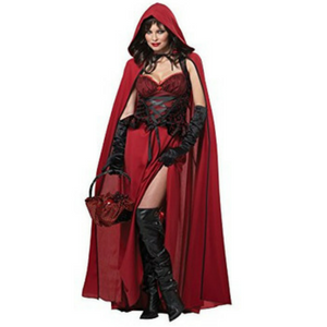 California Costumes Women's Dark Red Riding Hood Adult Review!