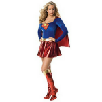 DC Comics Secret Wishes Supergirl Costume Review!