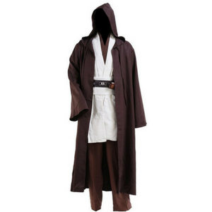 CosplaySky Star Wars Jedi Robe Costume Obi-Wan Kenobi Halloween Outfit Review