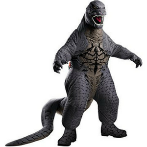 Rubies Godzilla Deluxe Inflatable Child Costume Review!